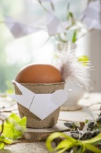 Fotografie květin, fotky květinových dekorací pro publikace na téma fotografie, květiny, kytky, dekorace, fotky, bird, diy, easter, egg, flower decoration, flower pot, nobody, paper, spring, willow branch